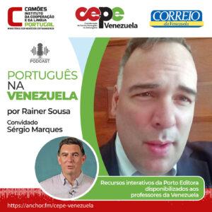 Recursos interativos da Porto Editora disponibilizados aos professores da Venezuela