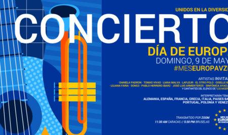 La Unión Europea en Venezuela celebra el Día de Europa con un concierto especial con jóvenes cantantes venezolanos y música europea como protagonistas