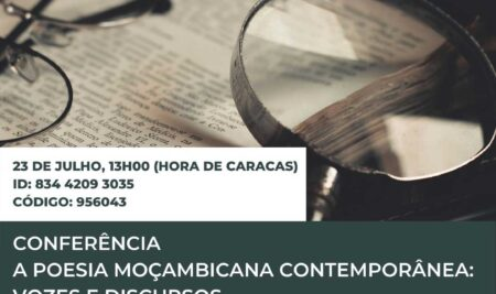 Webinar – a poesia contemporânea moçambicana: vozes e discursos…