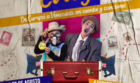 """La Delegación de la Unión Europea invita a disfrutar del espectáculo infantil """"El Viaje: de Europa a Venezuela en cuentos y canciones"""""""